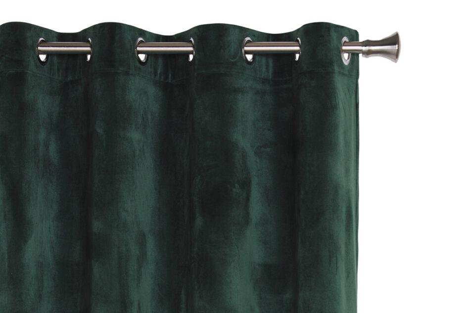 VELO Zasłona na przelotkach ciemny zielony - zdjęcie 0