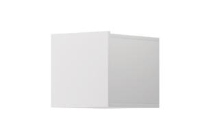 MORIO, https://konsimo.pl/kolekcja/morio/ Nowoczesna półka wisząca biała biały - zdjęcie