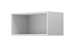 MORIO, https://konsimo.pl/kolekcja/morio/ Nowoczesna duża półka wisząca biała biały - zdjęcie