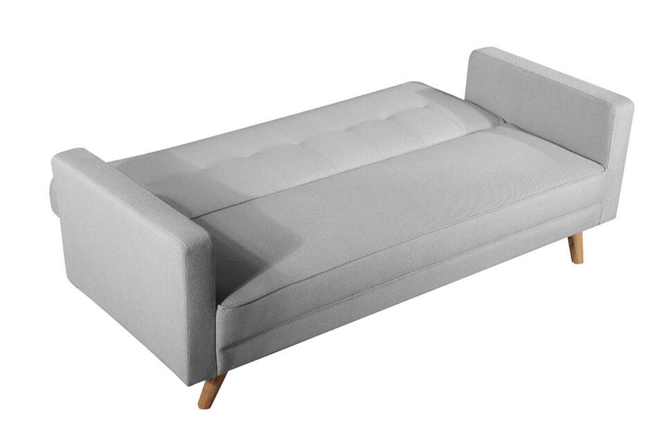 RUCO Rozkładana kanapa z funkcją spania jasnoszara jasny szary - zdjęcie 3