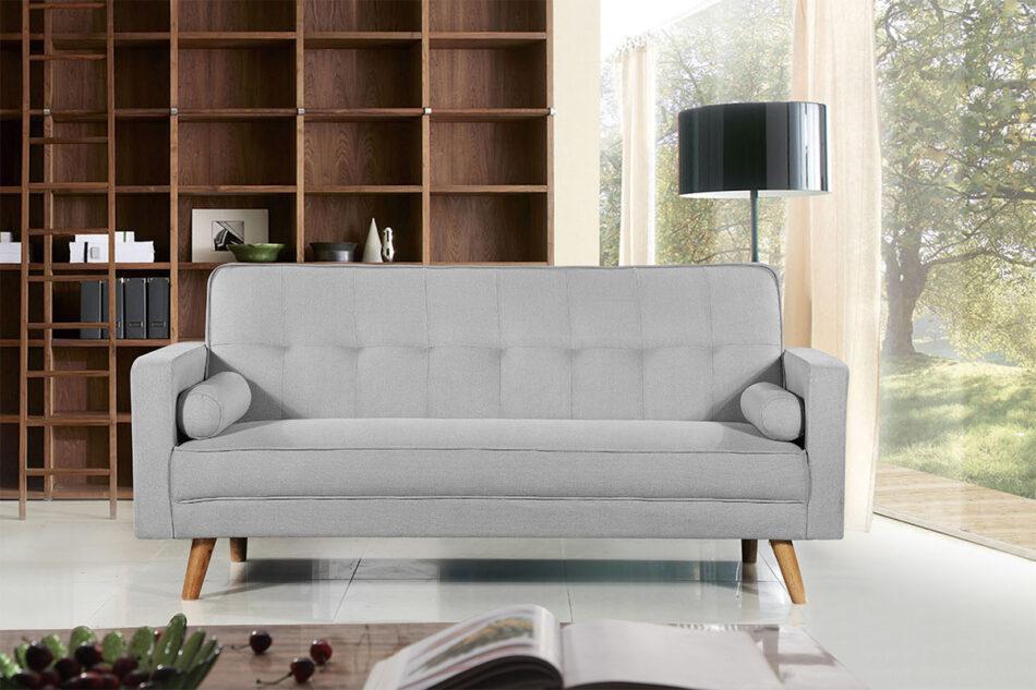 RUCO Rozkładana kanapa z funkcją spania jasnoszara jasny szary - zdjęcie 2