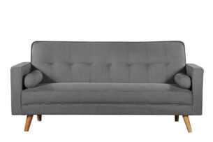 RUCO, https://konsimo.pl/kolekcja/ruco/ Rozkładana kanapa z funkcją spania szara ciemny szary - zdjęcie