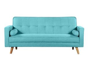 RUCO, https://konsimo.pl/kolekcja/ruco/ Rozkładana kanapa z funkcją spania turkusowa turkusowy - zdjęcie