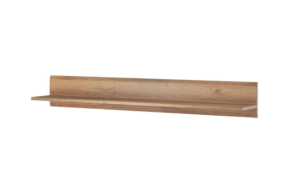 Półka wisząca160 cm  w stylu modern dąb naturalny