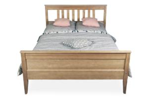 CUCULI, https://konsimo.pl/kolekcja/cuculi/ Sosnowa rama łóżka 90 x 200 kolor dąb dąb - zdjęcie