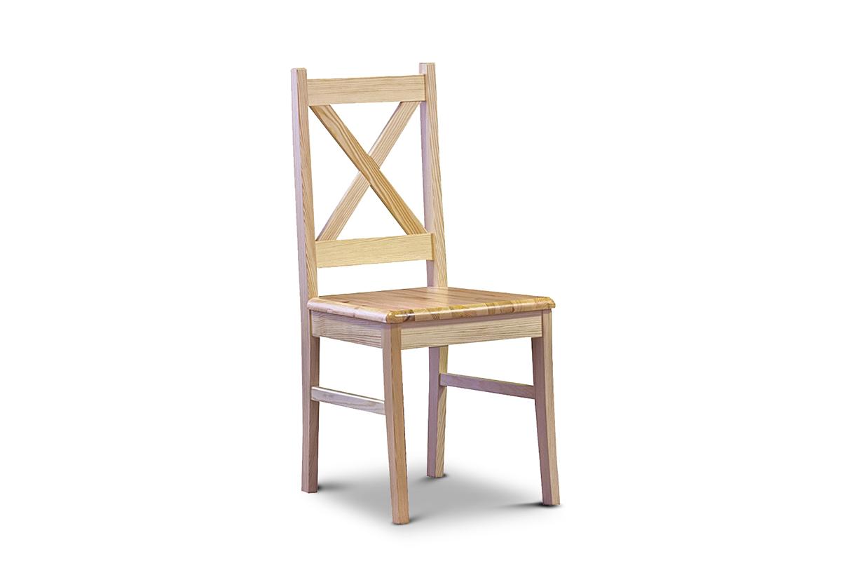 Krzesło krzyżak sosnowe
