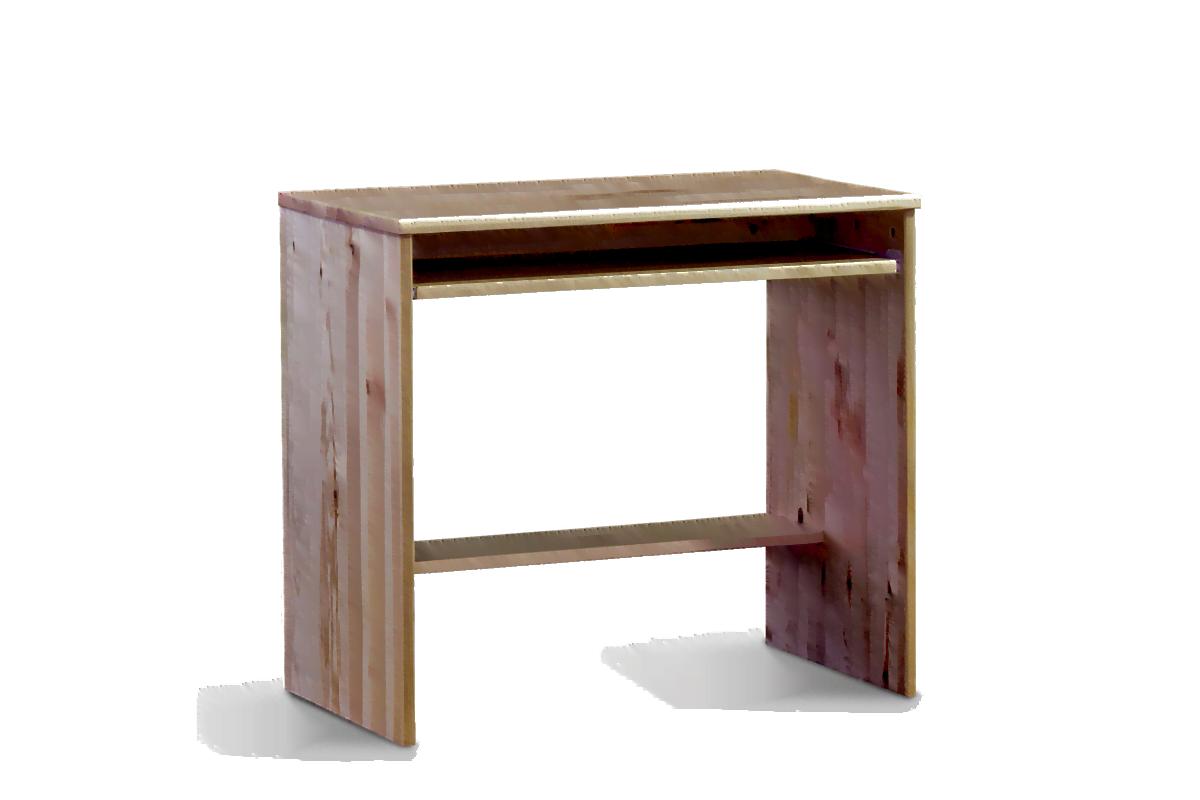Małe biurko sosnowe