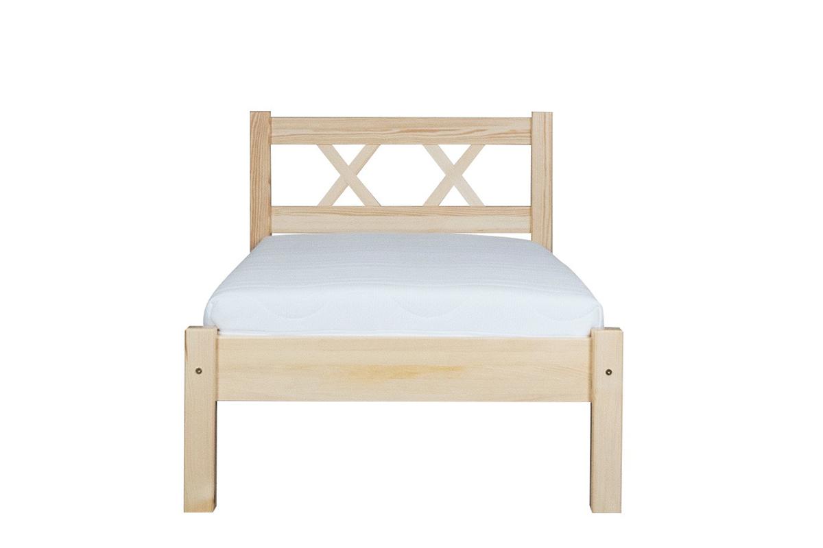 Rama łóżka sosnowa 160x200