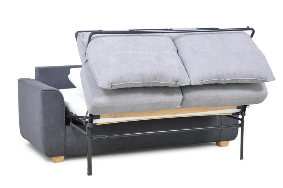 URKE Sofa ze stelażem włoskim szara jasny szary/ciemny szary - zdjęcie 5