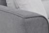 URKE Sofa ze stelażem włoskim szara jasny szary/ciemny szary - zdjęcie 8
