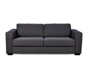 VULUS, https://konsimo.pl/kolekcja/vulus/ Duża sofa 3 osobowa antracytowa antracytowy - zdjęcie
