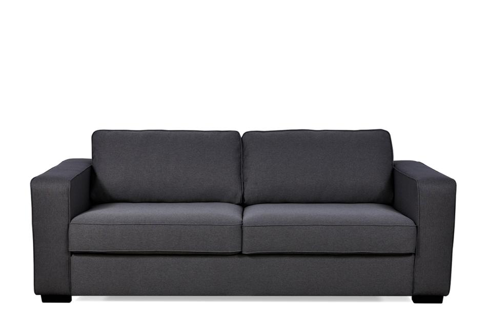 VULUS Duża sofa 3 osobowa antracytowa antracytowy - zdjęcie 0