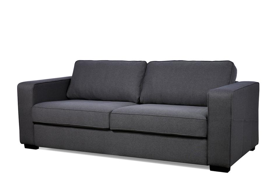 VULUS Duża sofa 3 osobowa antracytowa antracytowy - zdjęcie 2