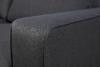VULUS Duża sofa 3 osobowa antracytowa antracytowy - zdjęcie 6