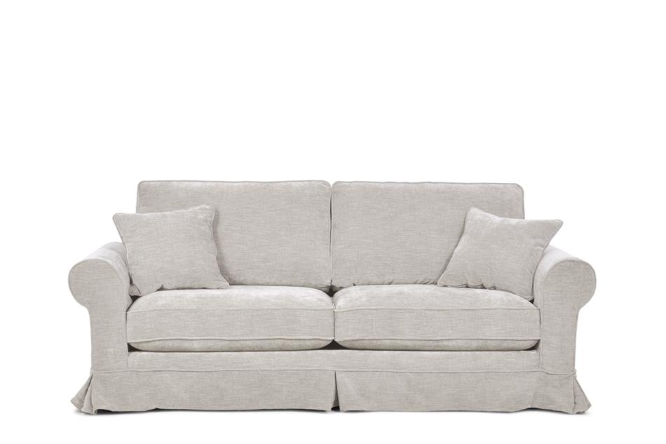 PURRO Sofa ze zdejmowanym pokrowcem beżowa beżowy - zdjęcie 0