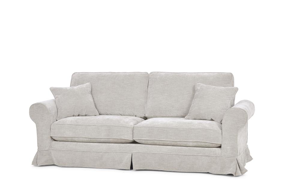 PURRO Sofa ze zdejmowanym pokrowcem beżowa beżowy - zdjęcie 2