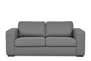 BINTU, https://konsimo.pl/kolekcja/bintu/ Sofa z funkcją spania codziennego z materacem szara szary - zdjęcie