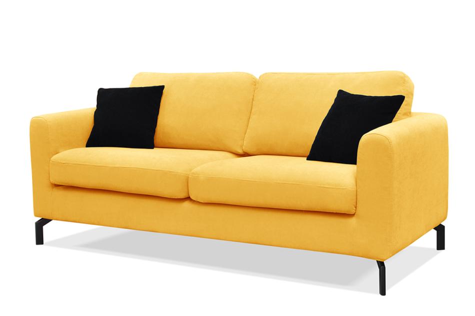 KAPI Kanapa ze zdejmowanym pokrowcem żółta żółty - zdjęcie 1
