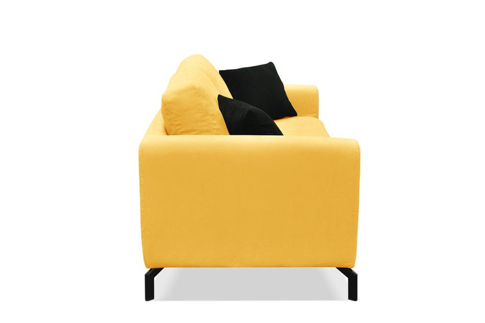 KAPI Kanapa ze zdejmowanym pokrowcem żółta żółty - zdjęcie 2