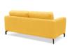 KAPI Kanapa ze zdejmowanym pokrowcem żółta żółty - zdjęcie 4