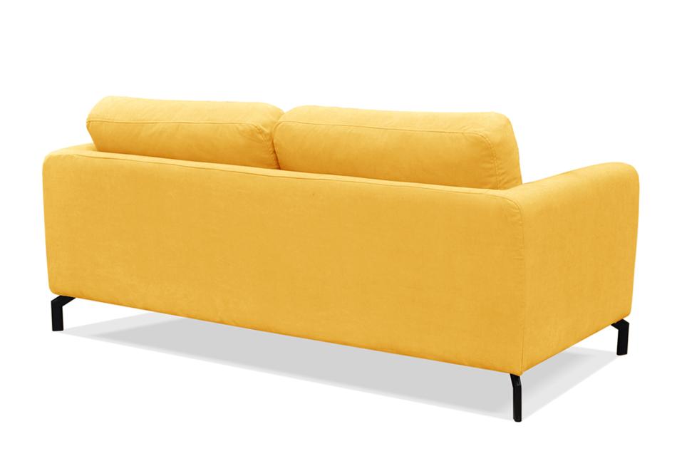 KAPI Kanapa ze zdejmowanym pokrowcem żółta żółty - zdjęcie 3