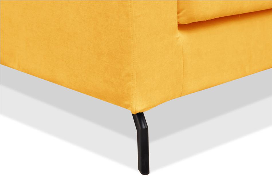 KAPI Kanapa ze zdejmowanym pokrowcem żółta żółty - zdjęcie 5