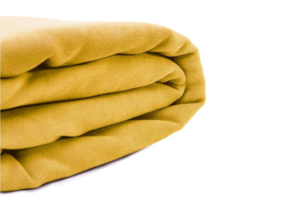 KAPI Kanapa ze zdejmowanym pokrowcem żółta żółty - zdjęcie 7