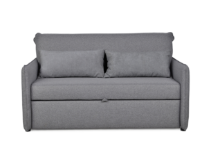 NIKUS, https://konsimo.pl/kolekcja/nikus/ Rozkładana sofa do pokoju dziecięcego szara szary - zdjęcie