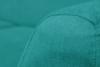 NEBRIS Skandynawska sofa na nóżkach 3 osobowa turkusowa turkusowy - zdjęcie 4