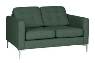 PORTOFINO, https://konsimo.pl/kolekcja/portofino/ Nowoczesna sofa 2 osobowa do salonu zielona zielony - zdjęcie