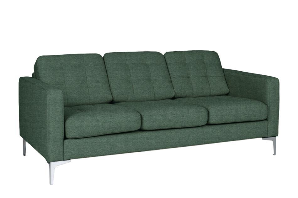 PORTOFINO Nowoczesna sofa 3 osobowa do salonu zielona zielony - zdjęcie 0