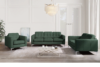 PORTOFINO Nowoczesna sofa 3 osobowa do salonu zielona zielony - zdjęcie 2