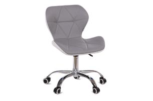 OBTUS, https://konsimo.pl/kolekcja/obtus/ Krzesło szary/biały - zdjęcie