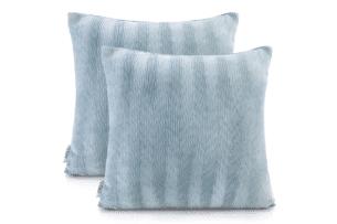 NANCY, https://konsimo.pl/kolekcja/nancy/ Poszewka na poduszkę (2szt.) niebieski - zdjęcie