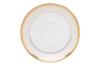 AGAWA GOLD Serwis herbaciany polska porcelana 15 elementów biały / złoty wzór dla 6 os. Gold - zdjęcie 16