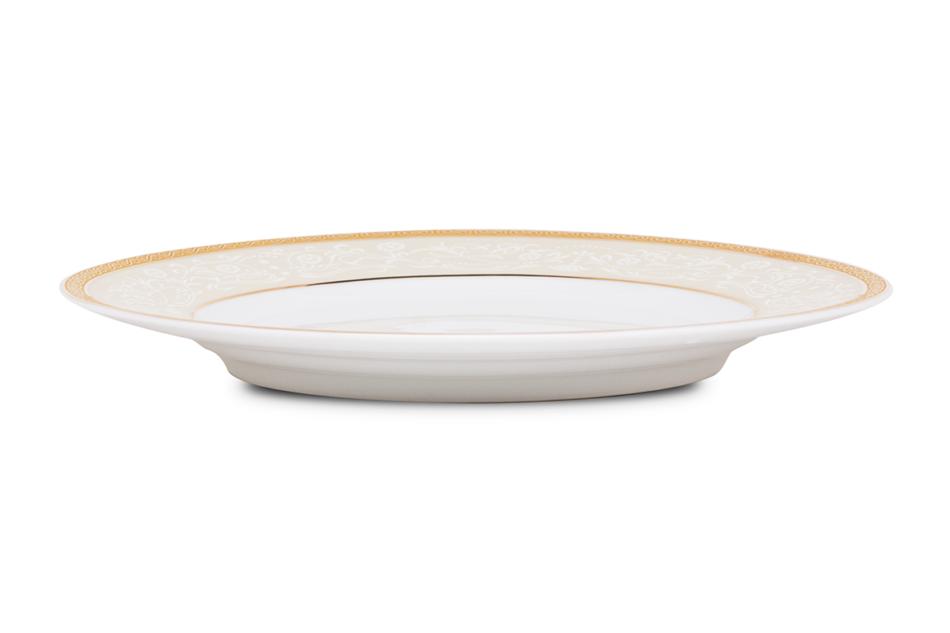 AGAWA GOLD Serwis herbaciany polska porcelana 15 elementów biały / złoty wzór dla 6 os. Gold - zdjęcie 17
