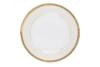 AGAWA GOLD Serwis herbaciany polska porcelana 15 elementów biały / złoty wzór dla 6 os. Gold - zdjęcie 14