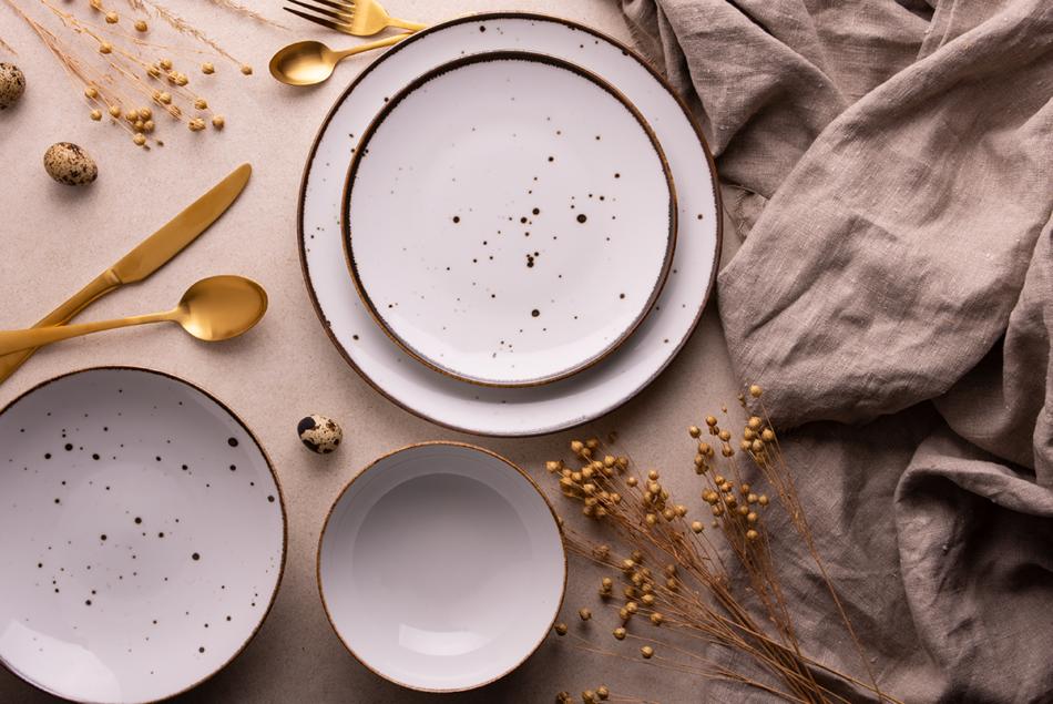 ALUMINA Serwis obiadowy polska porcelana Cottage White dla 6 os. Cottage white - zdjęcie 3