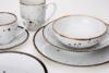 ALUMINA Serwis obiadowy polska porcelana Cottage White dla 6 os. Cottage white - zdjęcie 11