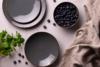 ALUMINA Serwis obiadowy polska porcelana Cottage Graphit dla 6 os. Cottage Graphit - zdjęcie 5