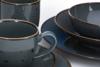 ALUMINA Serwis obiadowy polska porcelana Cottage Graphit dla 6 os. Cottage Graphit - zdjęcie 4