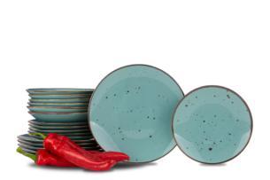 ALUMINA, https://konsimo.pl/kolekcja/alumina/ Serwis obiadowy polska porcelana Cottage Tiffany dla 6 os. Cottage Tiffany - zdjęcie