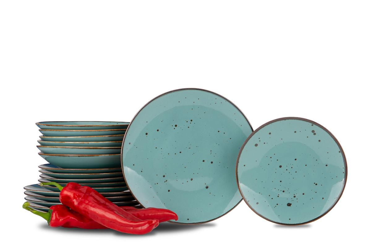Serwis obiadowy polska porcelana Cottage Tiffany dla 6 os.
