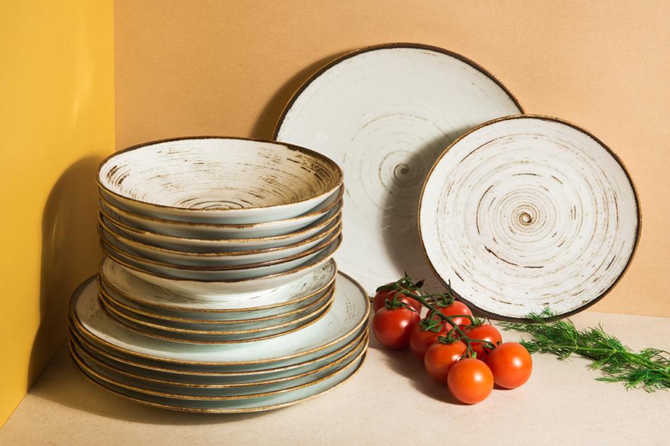 ALUMINA Serwis obiadowy polska porcelana Nostalgia White dla 6 os. Nostalgia White - zdjęcie 3