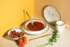 ALUMINA Serwis obiadowy polska porcelana Nostalgia White dla 6 os. Nostalgia White - zdjęcie 5