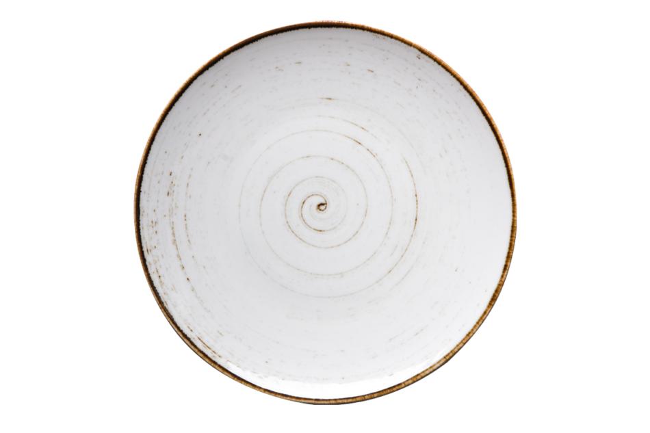 ALUMINA Serwis obiadowy polska porcelana Nostalgia White dla 6 os. Nostalgia White - zdjęcie 7