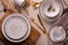 ALUMINA Serwis obiadowy polska porcelana Nostalgia White dla 6 os. Nostalgia White - zdjęcie 2