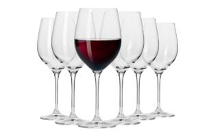 HARMONY, https://konsimo.pl/kolekcja/harmony/ Kieliszek do wina czerwonego (6 szt.) przezroczysty - zdjęcie