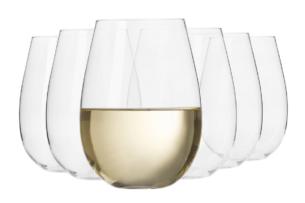 HARMONY, https://konsimo.pl/kolekcja/harmony/ Szklanka do wina (6 szt.) przezroczysty - zdjęcie