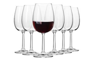 PURE, https://konsimo.pl/kolekcja/pure/ Kieliszek do wina czerwonego (6 szt.) przezroczysty - zdjęcie